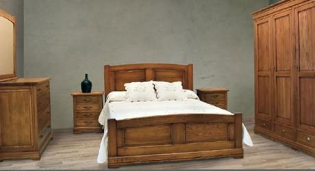 Meubles bois massifs meuble ch ne massif lit et armoire massif - Chambre chene massif ...