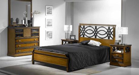 Meubles bois massifs meuble ch ne massif lit et armoire for Chambre complete adulte en pin massif